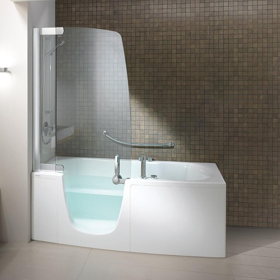 kombi badekar Badekar 382 J og dusj i ett. Made in Italy by Teuco kombi badekar