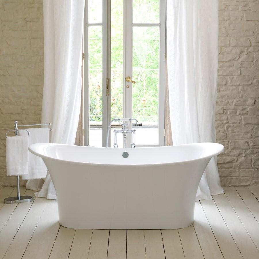 dypt badekar Badekar Toulouse konstruert i myke vakre linjer. MADE IN ENGLAND dypt badekar
