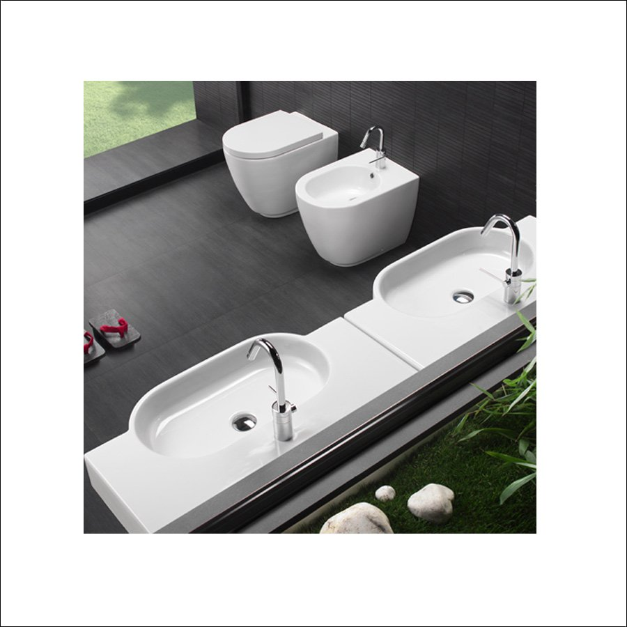 Hvitt Atena 81x45 Servant | Design4home