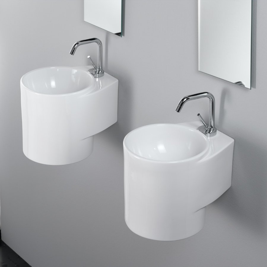 Rotondo White Servant i porcelæn | Design4home