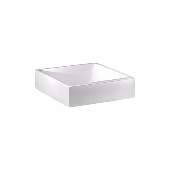 Servant Square Bas for benkeplate i porselen | Design4home
